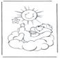 Glückbärchen Sonne