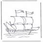 Grosses Segelboot
