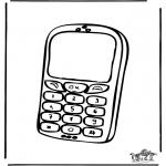 Allerhand Ausmalbilder - Handy