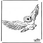 Ausmalbilder Comicfigure - Harry Potter 10