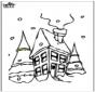Haus im Schnee 2