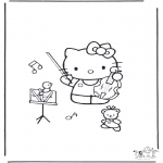 Allerhand Ausmalbilder - Hello Kitty malvorlage