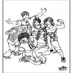 Allerhand Ausmalbilder - High School Musical 1