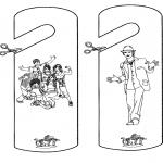 Allerhand Ausmalbilder - High School Musical Basteln 3