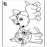 malvorlagen haus und bauernhoftiere - ausmalbilder tiere