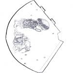 Malvorlagen Basteln - Hut Sarah Kay