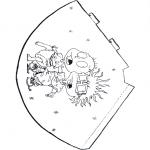 Malvorlagen Basteln - Hut von Alles