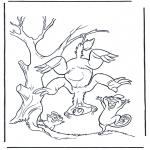 Ausmalbilder Comicfigure - Ice Age 7