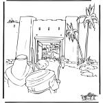 Bibel Ausmalbilder - Jerusalem