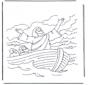 Jesus auf dem Wasser 1