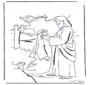 Jesus heilt einen Taube