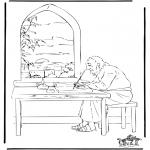 Bibel Ausmalbilder - Johannes