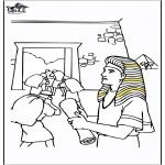 Bibel Ausmalbilder - Josef
