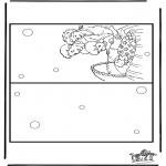 Malvorlagen Basteln - Karte Baby 5