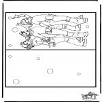 Malvorlagen Basteln - Karte K3