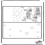 Malvorlagen Basteln - Karte Weihnachten 4