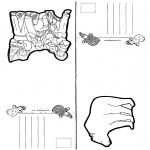 Malvorlagen Basteln - Karten 4