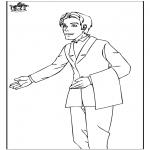 Allerhand Ausmalbilder - Kellner 1