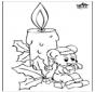 Kerze und Maus