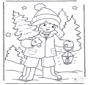 Kind mit Weihnachtsbaum 1