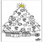 Kind mit Weihnachtsbaum 2
