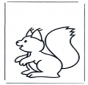 Kinder Eichhörnchen