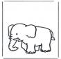 Kinder Elefant