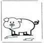 Kinder Schwein