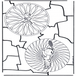 Malvorlagen Mandalas - Kinderduomandala