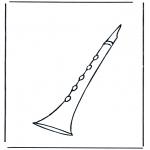 Allerhand Ausmalbilder - Klarinette