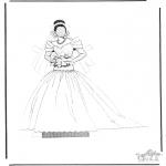 Malvorlagen Basteln - Kleider 1.1