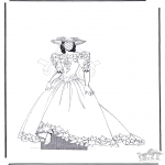 Malvorlagen Basteln - Kleider 1.2