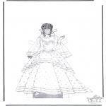 Malvorlagen Basteln - Kleider 1.5
