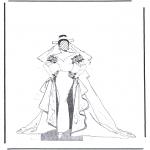 Malvorlagen Basteln - Kleider 1.8