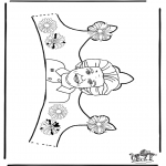 Malvorlagen Basteln - Klein Krönchen 2