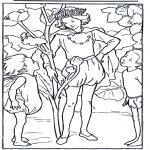 Allerhand Ausmalbilder - König Elfe