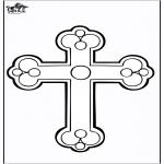 Bibel Ausmalbilder - Kreuz