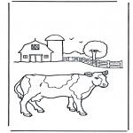 Allerhand Ausmalbilder - Kuh