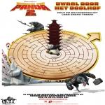 Ausmalbilder Comicfigure - Kung Fu Panda 2 - Labyrinth