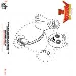 Ausmalbilder Comicfigure - Kung Fu Panda 2 - Malen nach zahlen 1