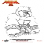 Kung Fu Panda 2 - Malen nach zahlen 3