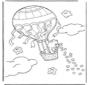 Kuschelbärchen in Ballon