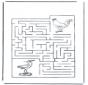 Labyrinth Vögel