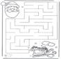 Labyrinth Weihnachtsmann