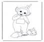 Lala mit Kaninchen