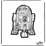 Malvorlagen Basteln - Laubsägearbeit Star Wars