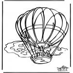 Allerhand Ausmalbilder - Luftballon