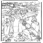 Bibel Ausmalbilder - Lydia