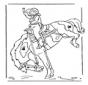 Mädchen auf Pferd 2