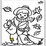 Allerhand Ausmalbilder - Mahlen Herbst 2